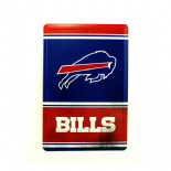 Buffalo Bills Tin Sign, Vintage Style